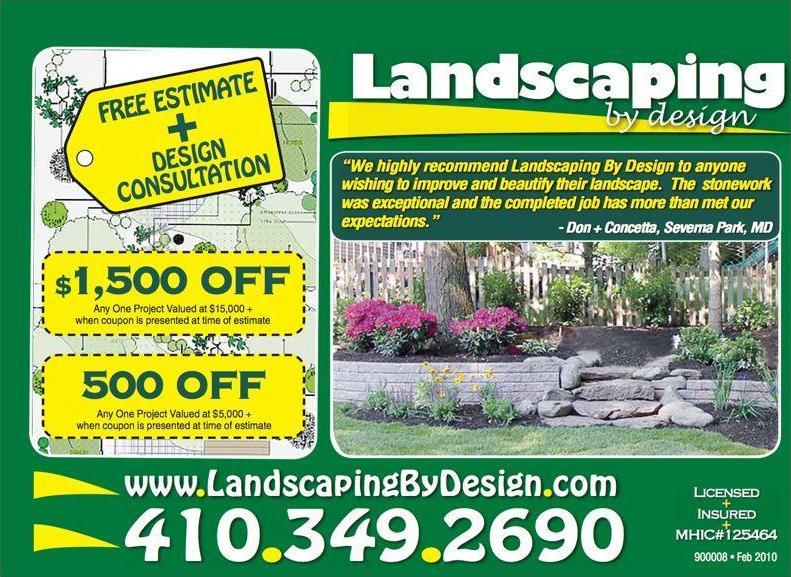 Landscaping deals
